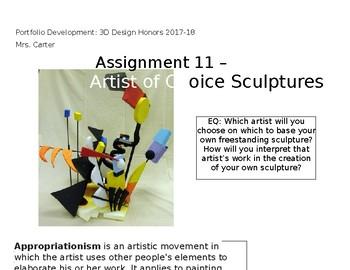Artist of Choice Sculptures