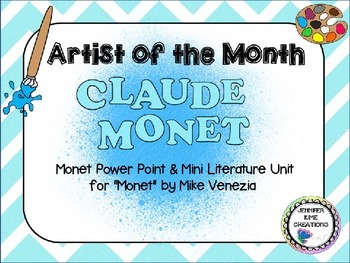Artist of the Month - Claude Monet