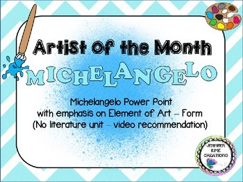 Artist of the Month - Michelangelo