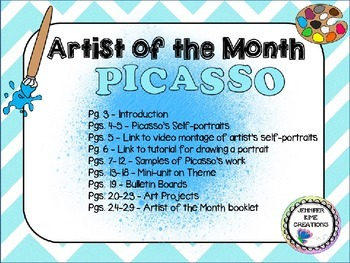 Artist of the Month - Pablo Picasso