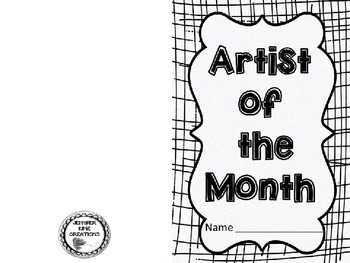 Artist of the Month Student Booklet