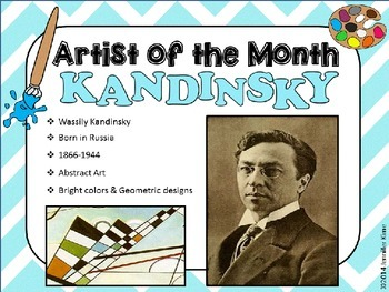 Artist of the Month - Wassily Kandinsky