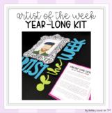 Artist of the Week Year-Long Bulletin Board Kit