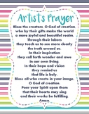 Artist's Prayer