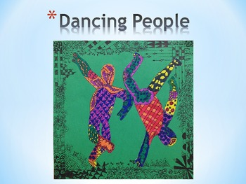 Artistic Dancing People Project and Lesson Plan