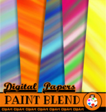 Artistic Paint Blend Background Papers