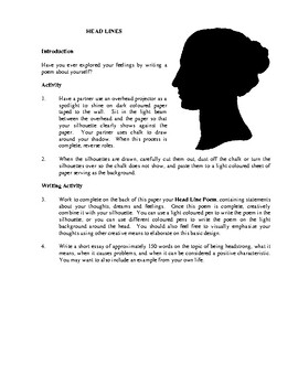 Artistic Self-Expression in English Language Arts, Activities and Projects