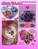 """Artistic Valentine Cards"" Activity Book"