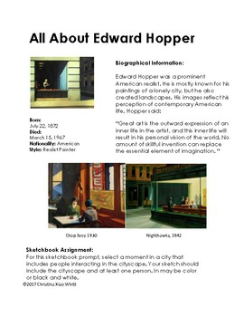 Artists- All About Edward Hopper