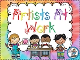 Artists At Work {Art Lessons and Activities}