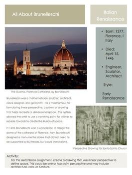 Artists- Brunelleschi