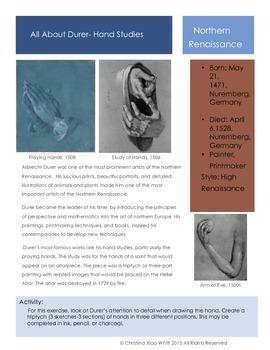 Artists-Durer- Hands