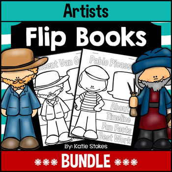 Artists Flip Books - BUNDLE