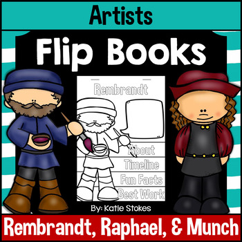Artists Flip Books - Set 4