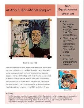 Artists- Jean Michel Basquiat