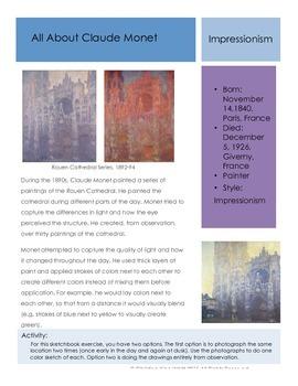 Artists -Monet
