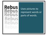 Artists Rebus