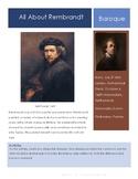 Rembrandt-Self Portrait Sketchbook Prompt