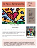 Romero Britto Sketchbook Prompt: Middle and High School Art