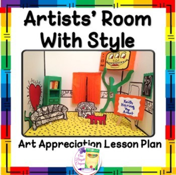 Artists' Room With Style Lesson - Fun Activity- Enhancemen