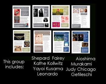 Artists-32 Sketchbook Prompts Mega Bundle