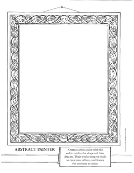 Artists at Work: An Anti-Coloring Book®