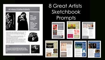 Artists-Sketchbook Prompts 4