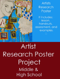 Artist & Art History Research Project