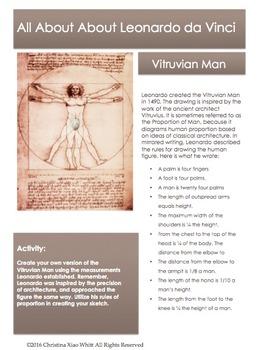 Leonardo da Vinci Sketchbook Prompt-Vetruvian Man