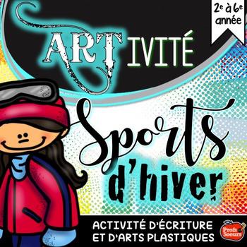 Artivité Sports d'Hiver // French Craftivity