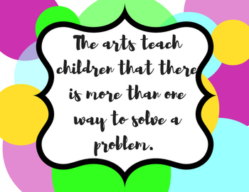 Arts Advocacy Posters