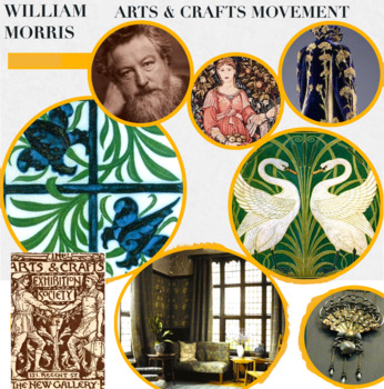 Arts & Crafts Movement - William Morris Inspired  - FREE POSTER