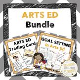 Goal Setting For Students | Arts Education | Fine Arts | Assessment | BUNDLE