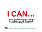 Arts Education 4 - Year Planning for Saskatchewan Teachers Made Easy