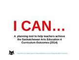 Arts Education 4 - Year Planning for Saskatchewan Teachers