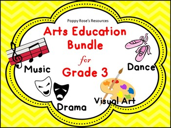 Arts Education Bundle For Grade 3 - Saskatchewan