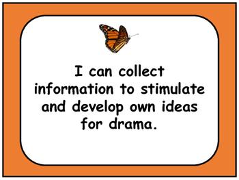 Arts Education : Drama Grades 2-4  I Can Statements