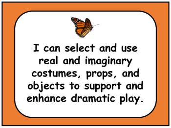 Arts Education : Drama Kindergarten -Grade 1 I Can Statements