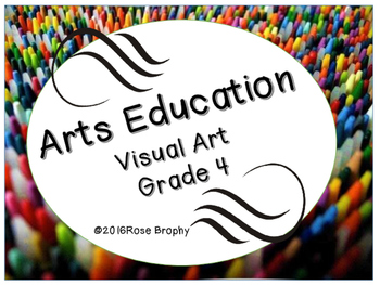 Arts Education (Visual Arts) Grade 4