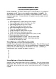 Arts & Humanities 18th Century WEBQUEST