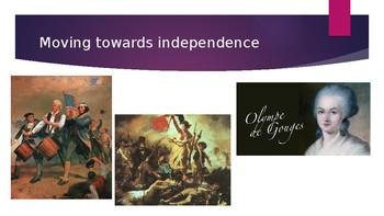 Arts & Humanities Eighteenth Century Power Point