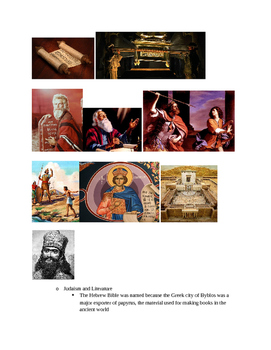 Arts & Humanities Judaism, Christianity, and Byzantium - teacher guided lecture