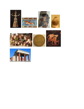 Arts & Humanities Kinesthetic Activity and materials: Aegean-Ancient Greek