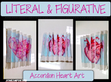 "Arts Integrated- Accordion Art: Figurative and Literal meanings of ""Heart"" CCA"