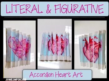 Arts Integrated- Accordion Art: Figurative and Literal mea