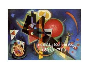 Arts Integrated Reading Strategies Activity Using Kandinsky Art