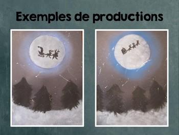 Art-  La nuit de Noël