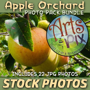 "! ""Apple Orchard"" - Stock Photos - photo pack bundle"