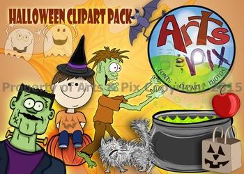 ! Clipart - Halloween Clip Art Pack - color