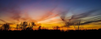 ! FREE Stock Photo - Sunset - panoramic - FREEBIE